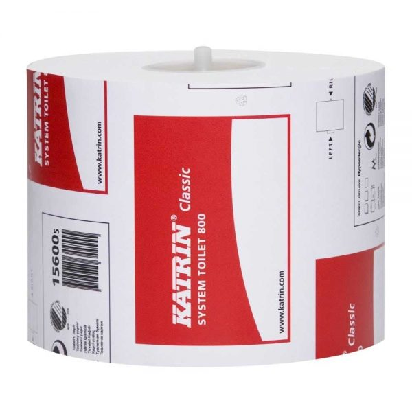 Katrin Classic Toilet Roll System 800 2ply 156005