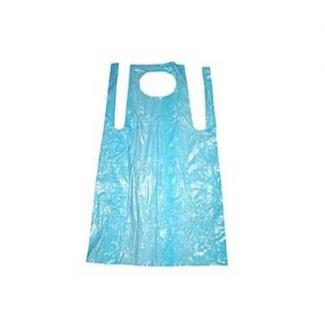 Disposable Aprons Blue on a roll 1000's