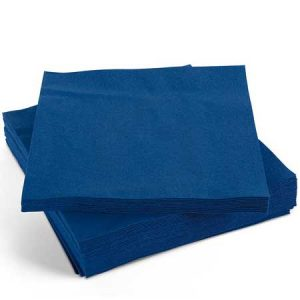 Blue Napkins Dark 33cm 2ply 2000's
