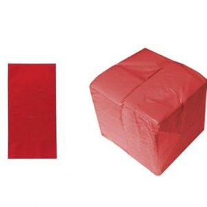 40cm 2ply Napkins Red 2000's 8 Fold
