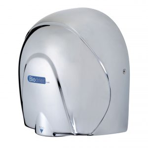 Hand Dryer Biodrier Eco Aluminium Chrome