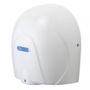 Hand Dryer Biodrier Eco White Silver