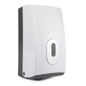 Toilet Tissue Dispenser Bulk Pack White