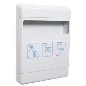 Toilet Seat Cover Dispenser White, WR-IN-4039/WS
