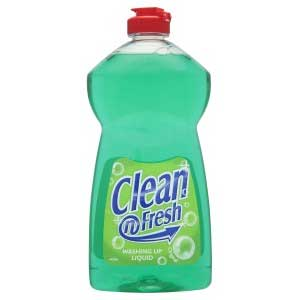 Clean & Fresh Washing Up Liquid 500ml 12s