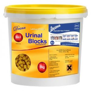 Channel Urinal Blocks 3in1 Citrus 3kg