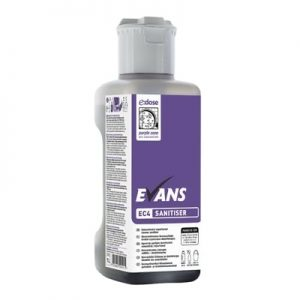 Evans EC4 Concentrated Cleaner Sanitiser 1ltr