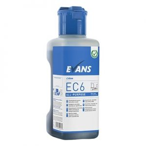 Evans EC6 All Purpose Hard Surface Cleaner 1ltr