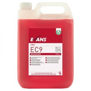 Evans EC9 Washroom Cleaner & Descaler 5ltr