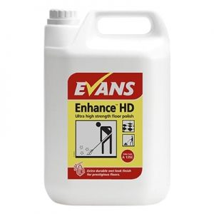 Evans Enhance HD Ultra Strength Floor Polish 5ltr