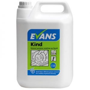 Evans Kind Washing Up Liquid 5ltr