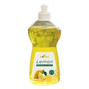 Evans Lemon Washing Up Liquid 12 x 500ml