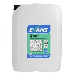 Evans Q' Sol Washing Up Liquid 20ltr