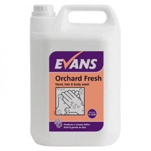 Evans Orchard Fresh Hand and Body Wash 5ltr