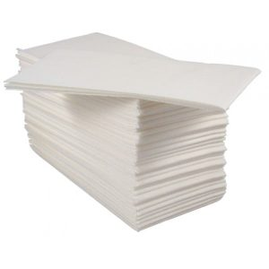 Airlaid Hand Towels 40cm 2ply White 8 fold