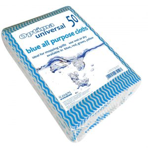 Blue All Purpose Cloths 50pk