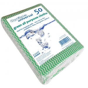 Green All Purpose Cloths 50pk