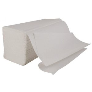 V Fold Paper Hand Towels 1ply White