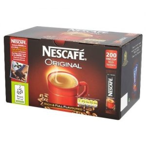 Nescafe Coffee Sticks Original 200's