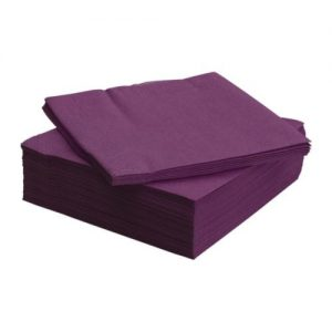 Purple Napkins 33cm 2ply 2000's