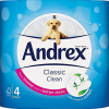 andrex classic clean toilet rolls