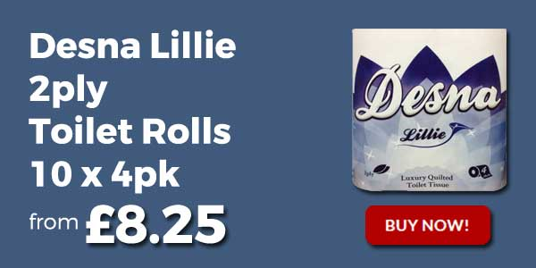 desna lillie toilet rolls 2ply