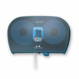 Side By Side Toilet Roll Dispenser Blue SBSBLUNS